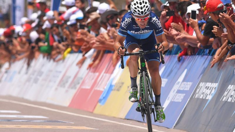 Sevilla takes race lead in Vuelta al Tachira time trial