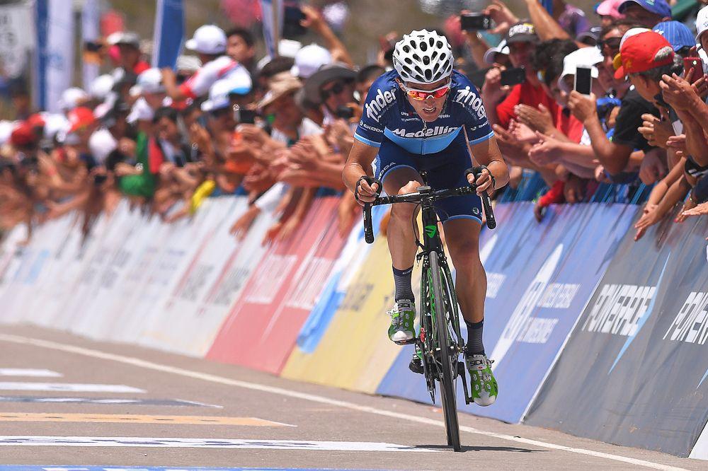 Sevilla takes race lead in Vuelta al Tachira time trial