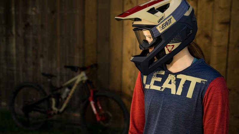 Leatt 4.0 Enduro Helmet with removable chinbar delivers DH-certified protection