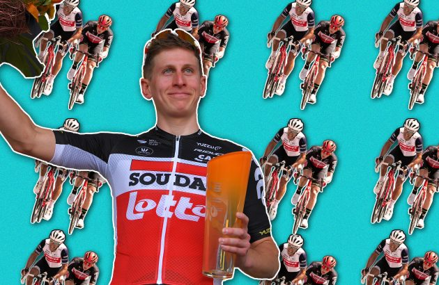 How did Matthew Holmes make it to the WorldTour? By nearly giving up and not going mad eating salad
