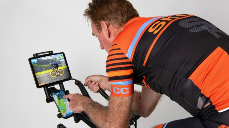 Sean Kelly and Indoor Velo launch screen mount for indoor cycling via Kickstarter