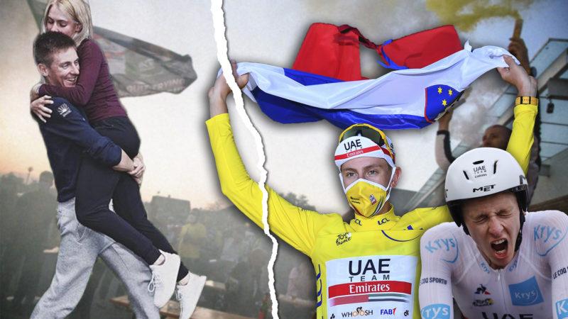 """""""Ich bin nur ein Kind aus Slowenien"""": Wie das gelbe Trikot der Tour de France das Leben von Tadej Pogačar nicht veränderte"""