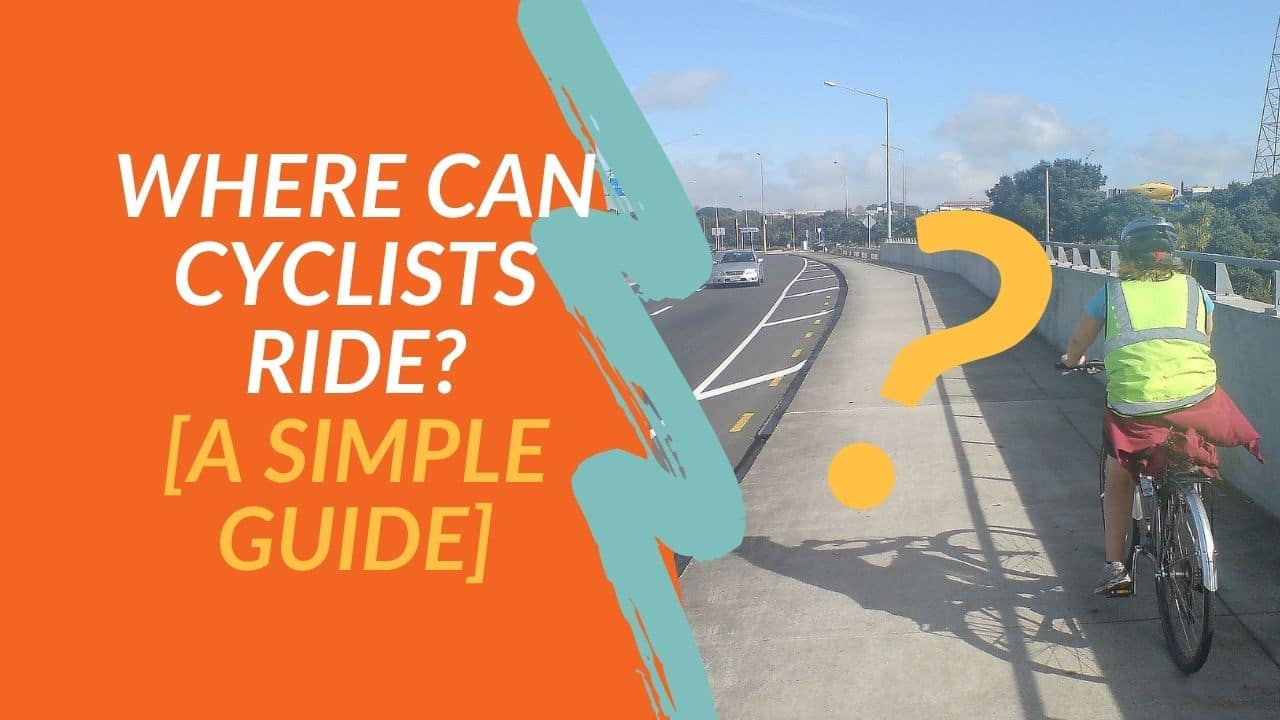 Can You Cycle on… the Pavement? Dual Carriageways? Motorways?