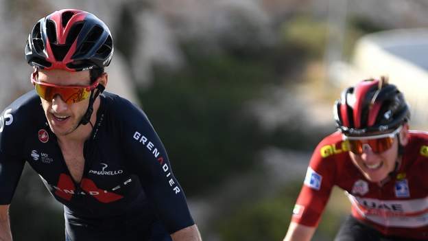 Adam Yates second in UAE Tour stage 3 after battle with Tadej Pogacar
