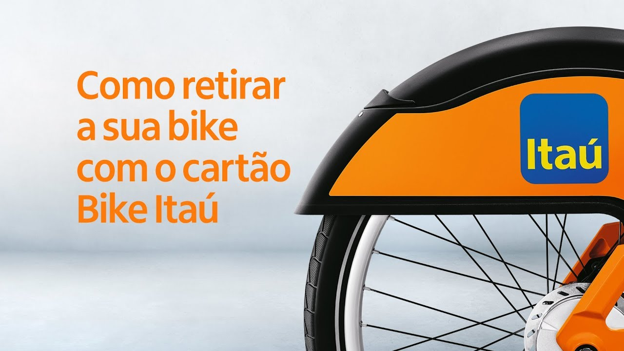 Nova Bike Itaú – Retire sua bike com o cartão Bike Itaú