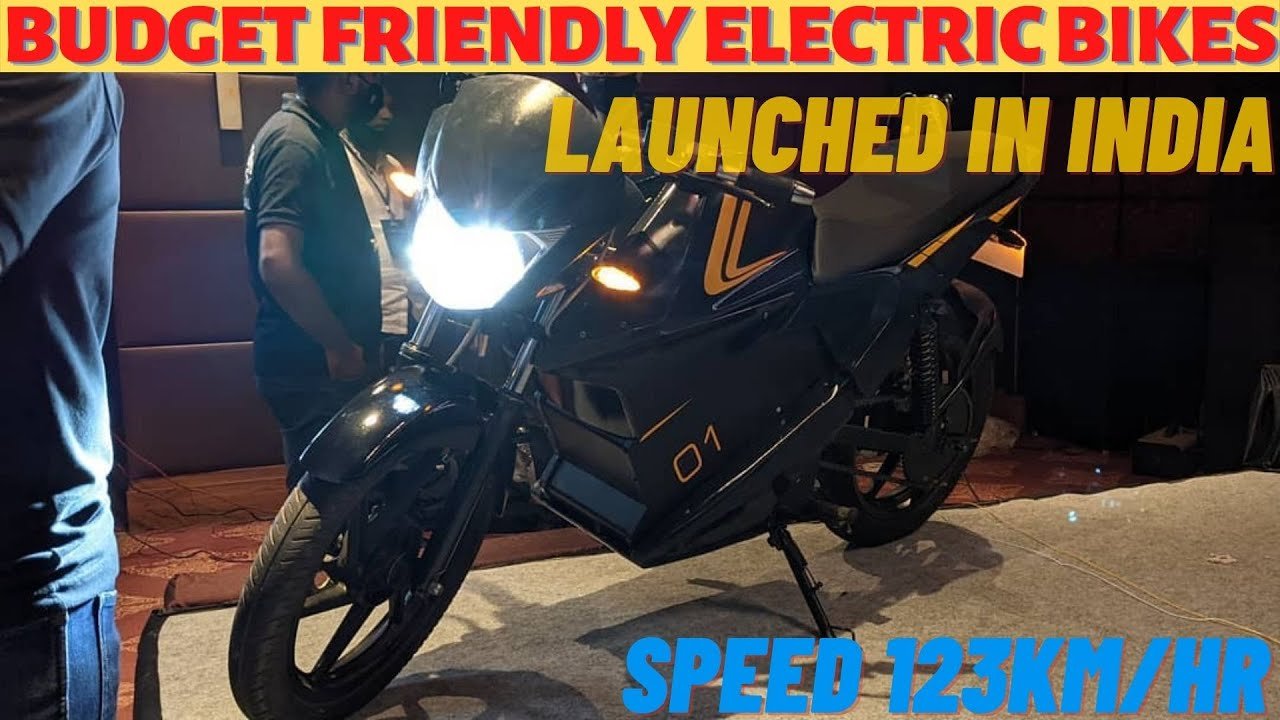 Good News!! 3 Electric Bikes Launched In India | Range upto 225Kms