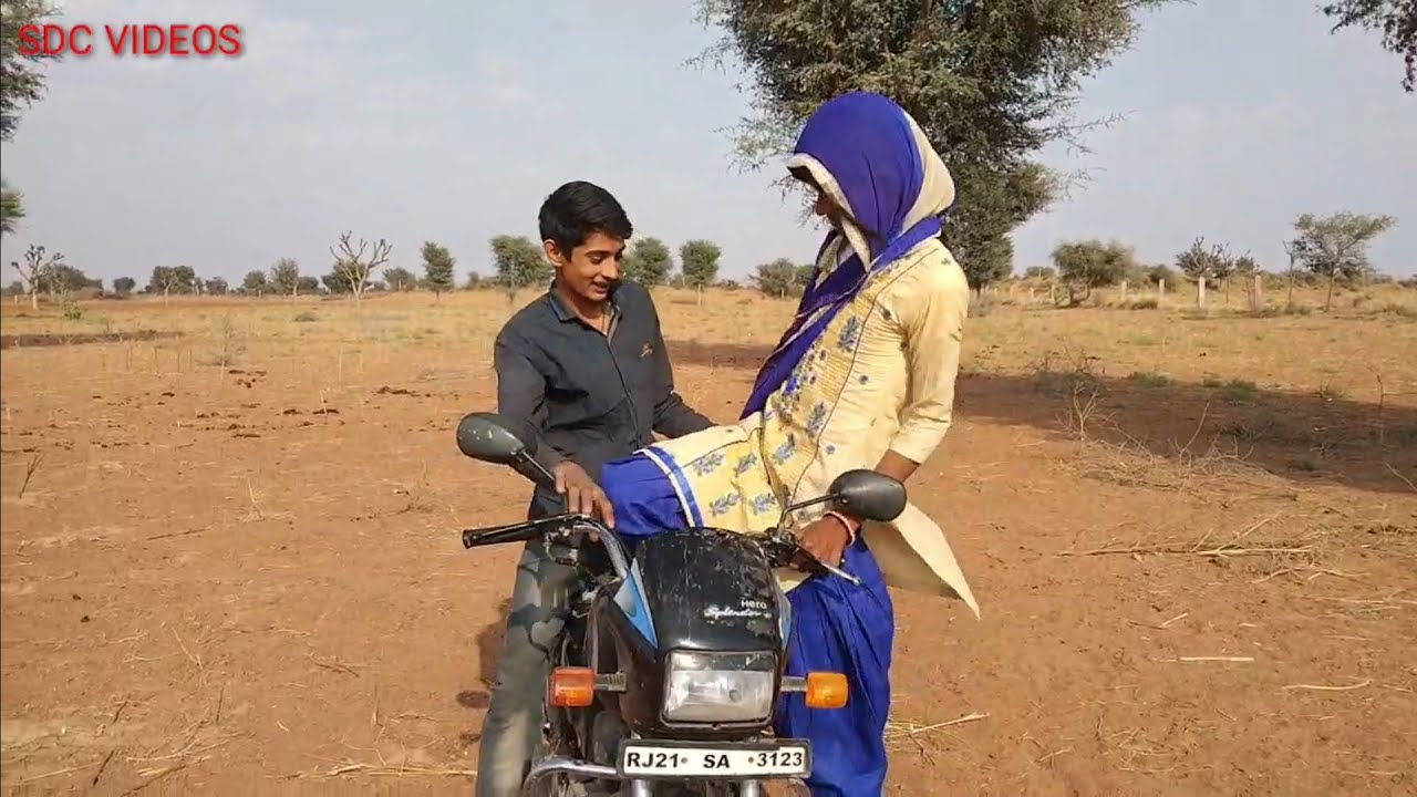 How To Comedy video vlog Indian village lady bike driver