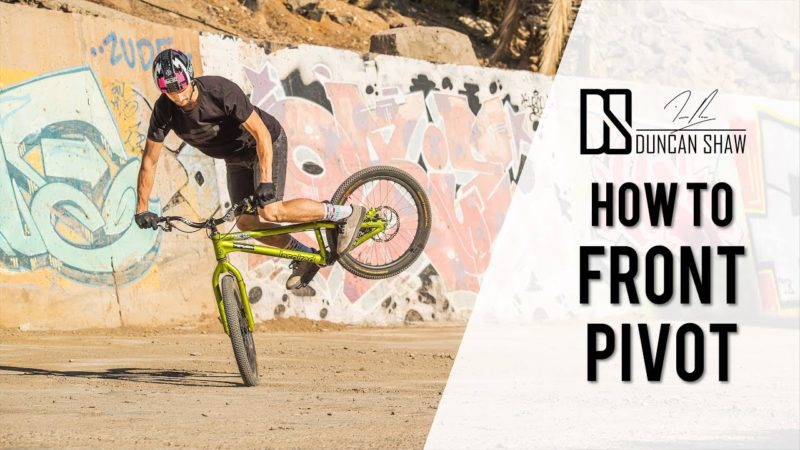 How to Front Pivot Your Bike – Spin on your Front Wheel Tutorial