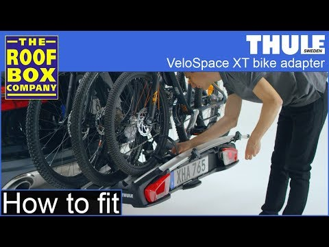 How to fit the Thule VeloSpace XT Bike Adapter