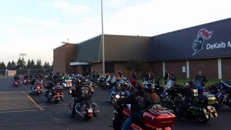 More Than 50 Bikers Escort Bullied Boy to School