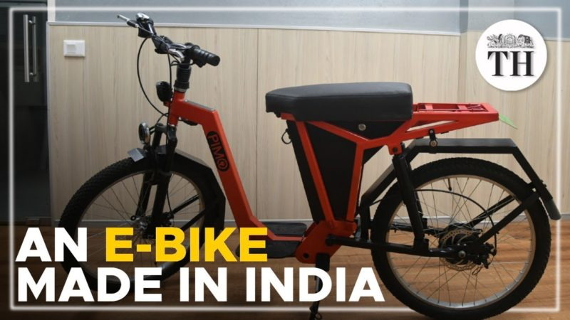 IIT Madras' home-grown e-bike