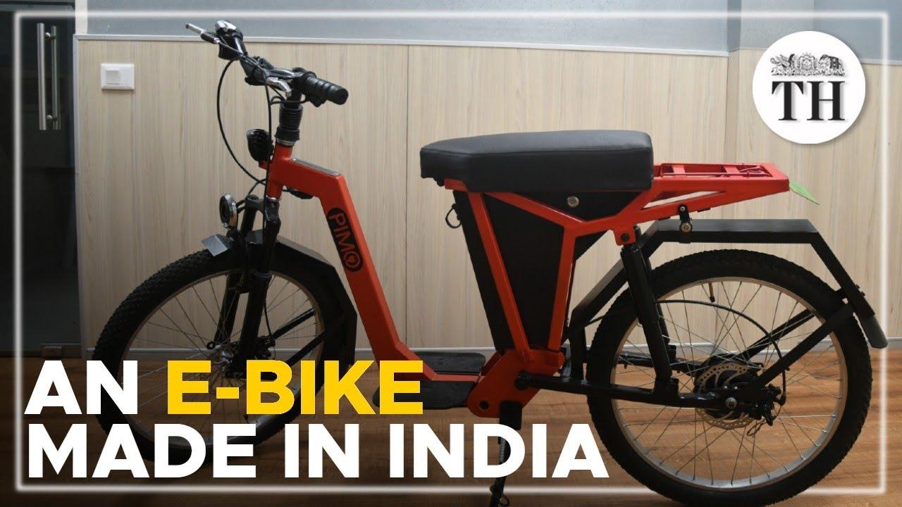 IIT Madras' home-grown e-bike