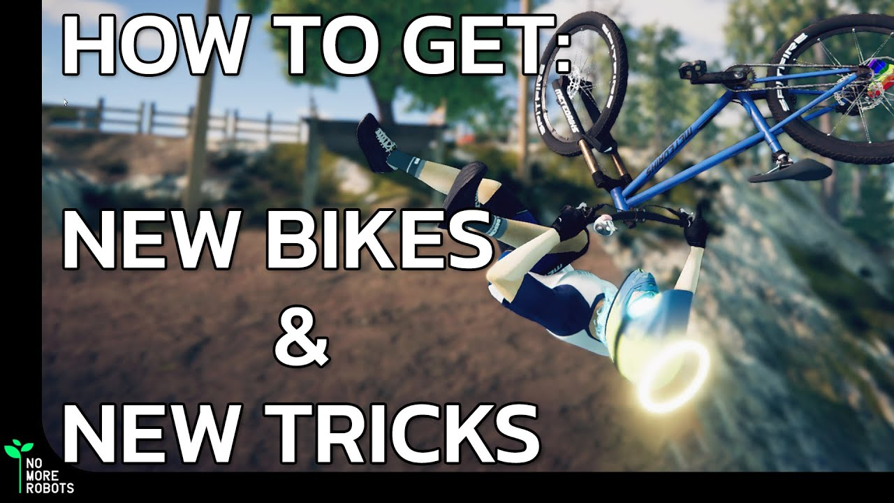 Descenders: How to get NEW BIKES & TRICKS!