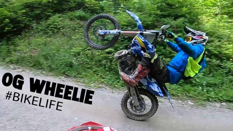 Dirt Bike Wheelie Compilation – STUNT BIKELIFE 2021