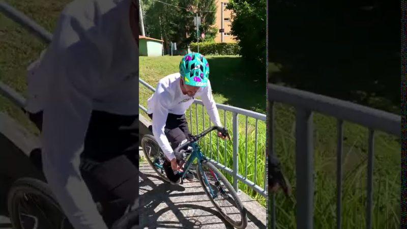 Tricky Road Bike Street Trials! 🤯🤘 – @Andrea Maranelli