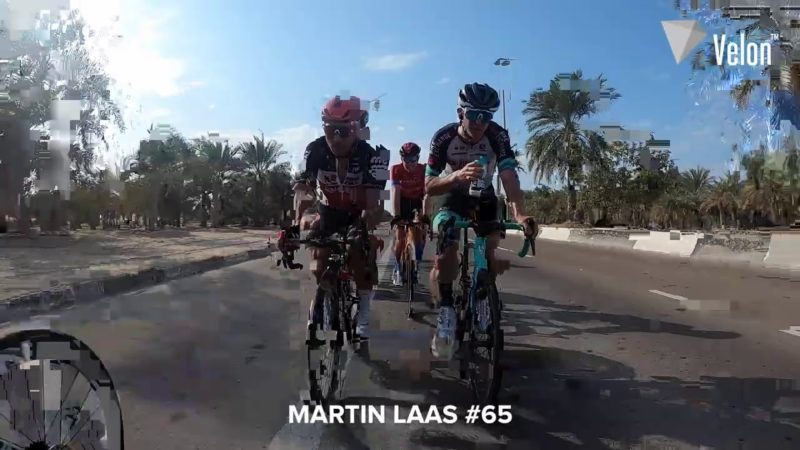 UAE Tour 2021 on-bike action: Dropped riders on Stage 1!