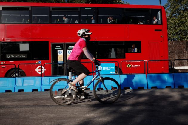 Boris Johnson vows to continue with safer cycling streets after judge said authority 'took advantage of pandemic' to create car-free zones
