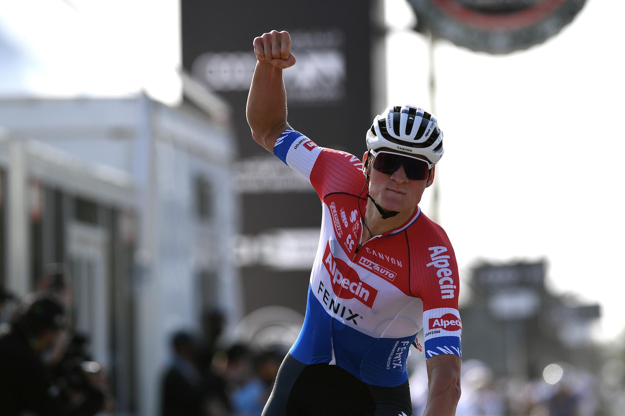 Mathieu van der Poel returns to the Netherlands after team pulls out of UAE Tour