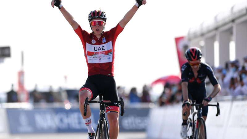 Tadej Pogačar wins on Jebel Hafeet to secure grip on GC – VeloNews.com