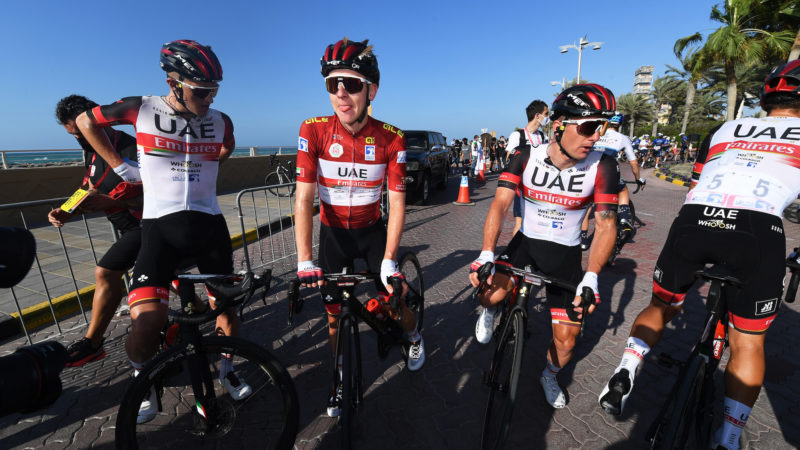 Tadej Pogačar signs long-term contract extension with UAE Team Emirates