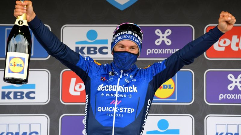 Ballerini saves the day as Alaphilippe's solo falls short in Omloop Het Nieuwsblad