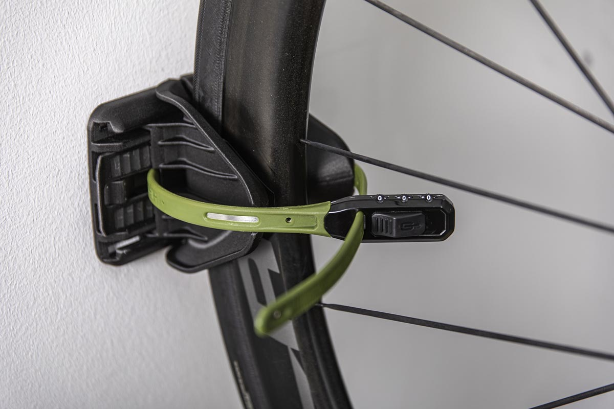 Hiplok stores & locks your bike indoors & out, with new JAW bike rack and ANKR Mini