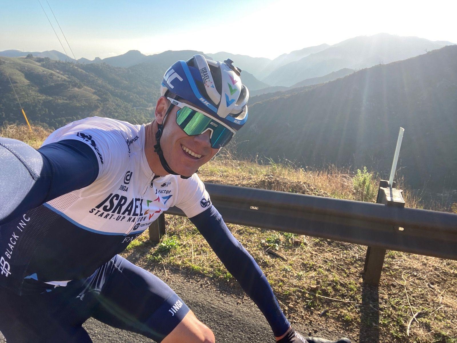 Chris Froome sender den sidste Californien-træningstur på Strava, mens han forbereder sig på sæsondebut