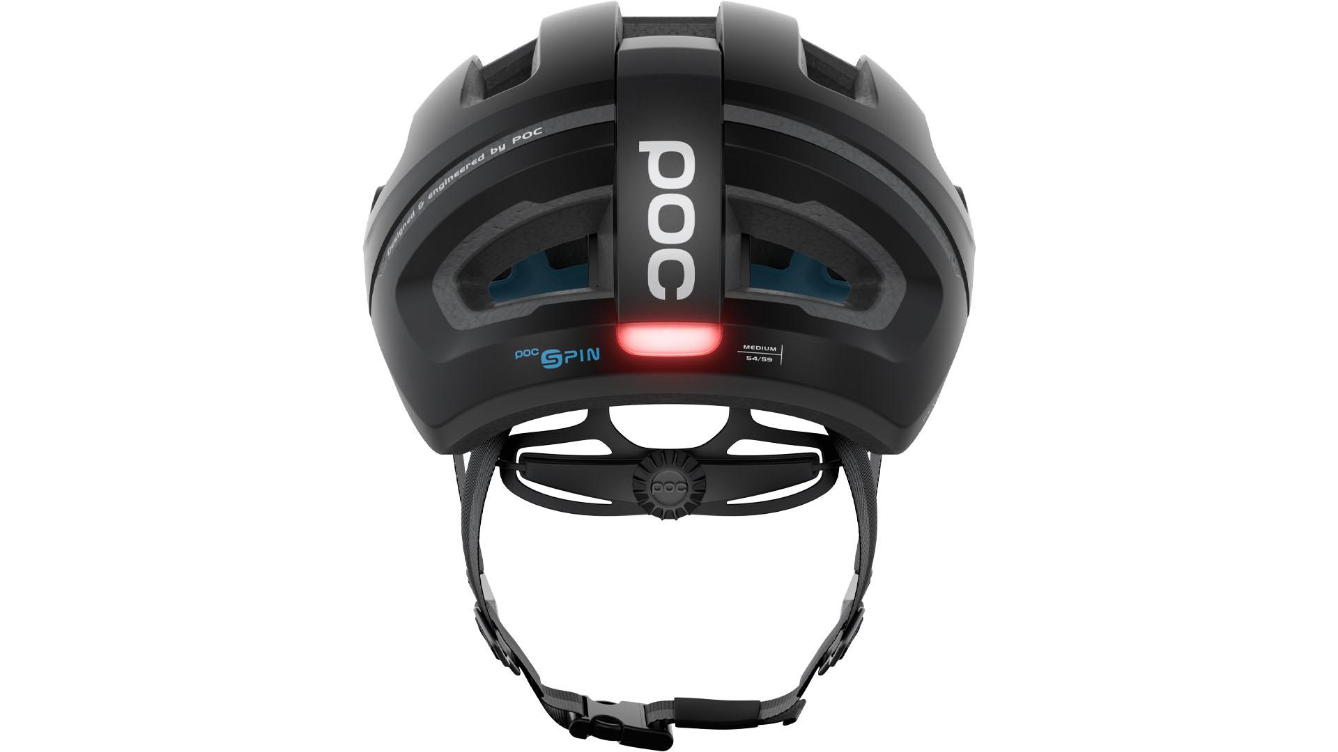 De nieuwe Omne Eternal-helm van POC heeft een lamp op zonne-energie die zichzelf laat werken