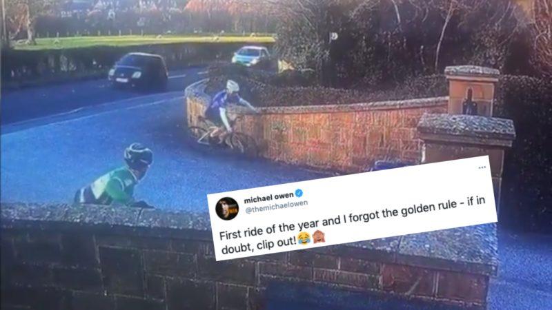 Tweets de la semana: Michael Owen se zambulle, Evie Richards vs oveja y Luke Rowe dice 'relájate'