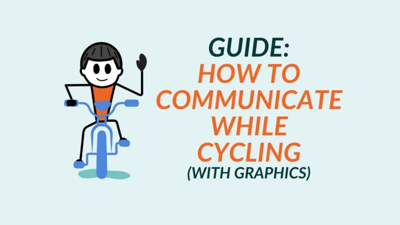 Cycling Hand Signals for Turning, Stopping and More [DIAGRAM]
