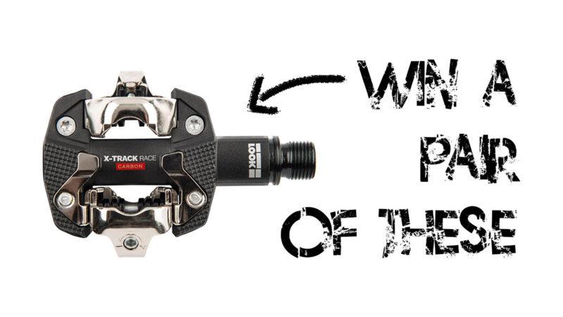 LAATSTE KANS!  Win een paar LOOK X-Track Race Carbon pedalen van $ 130!