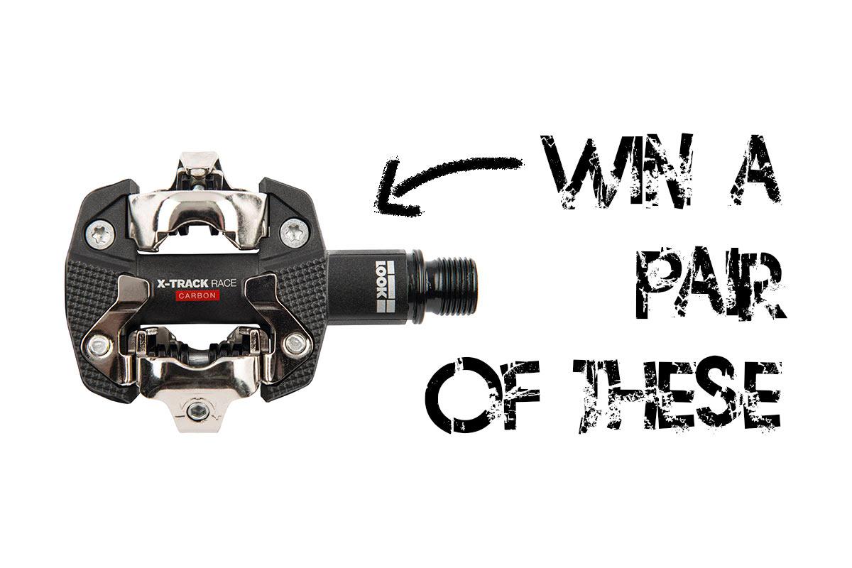 ¡ÚLTIMA OPORTUNIDAD!  ¡Gana un par de pedales de carbono LOOK X-Track Race de $ 130!