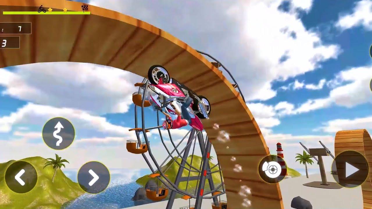 Bike Stunt Racing 3D #10 Moto Chellenge Trickey Master Rider Android Gameplay MotoBike Racing Games