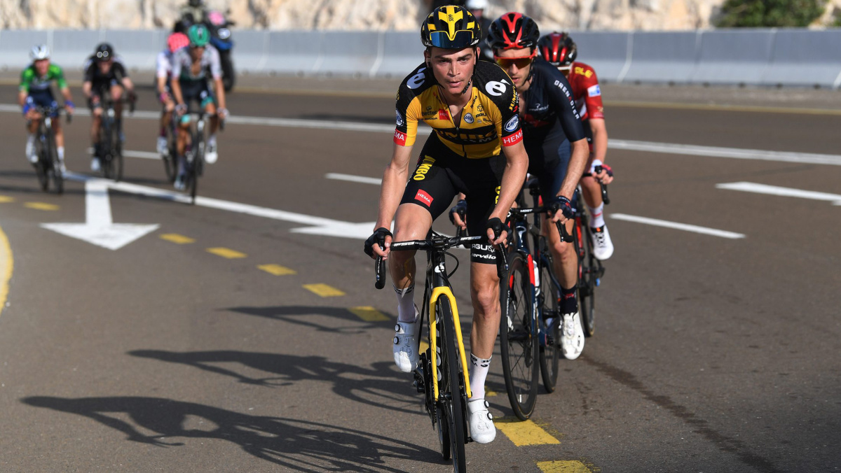 Sepp Kuss helps teammate at UAE Tour in his season's first mountaintop finale – VeloNews.com