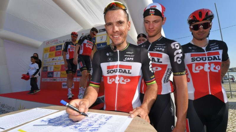 Gilbert: I would invite riders to open their emails