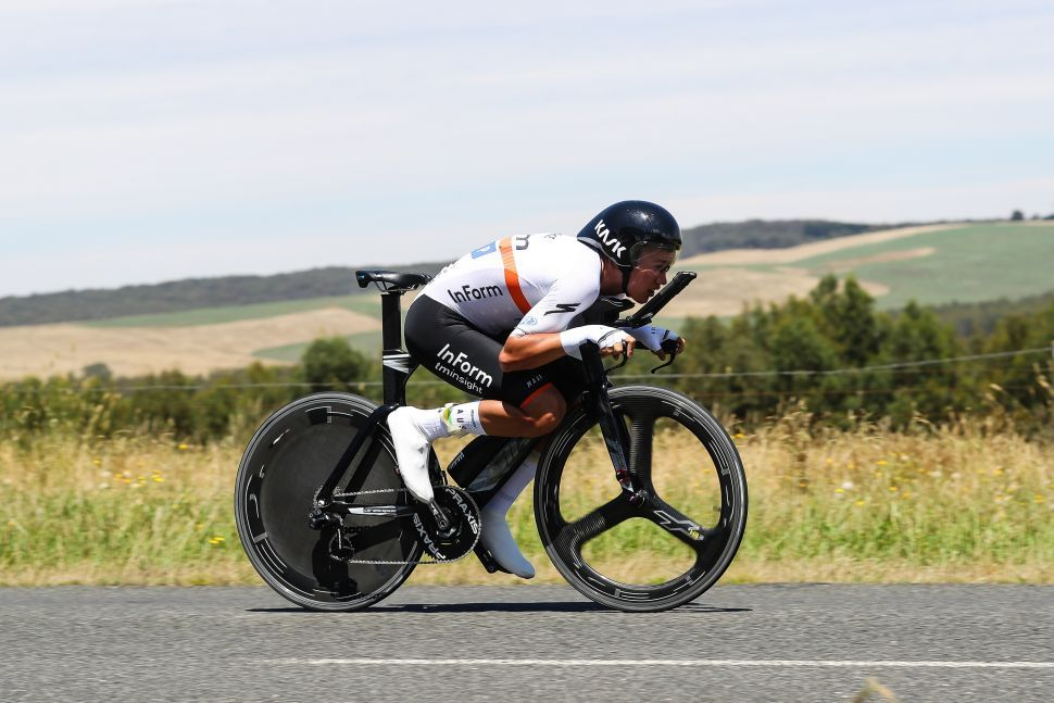 Australian Road Championships: Plapp wins elite men's time trial unseating Durbridge