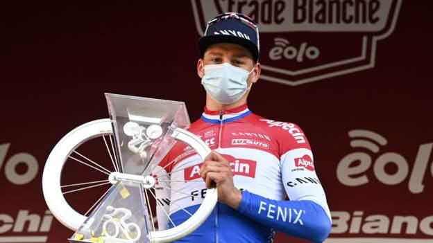 Strade Bianche: Mathieu van der Poel und Chantal van den Broek-Blaak holen sich das niederländische Doppel