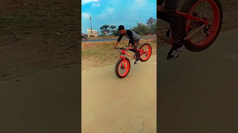 Duke fat bike cycle stunt || fatbike stoppie #fatbike #cyclestunt #stunts #mtb #stoppie