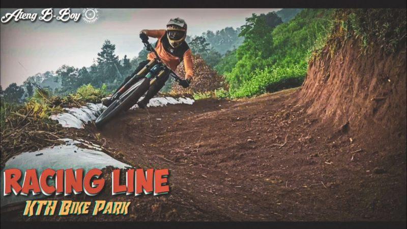 Racing Line tipis-tipis Di KTH Bike Park//