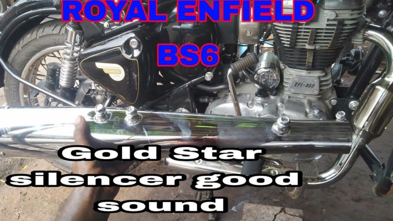 ROYAL ENFIELD BS6  classic 350 exhaust modification bike setting tricks hindi