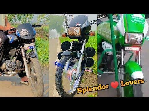 New 2021 Modified Splendor bike in Punjab || Splendor lovers 💕 || Deep creation