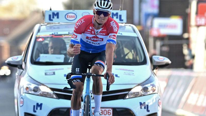 Mathieu van der Poel knap styr i Le Samyn finale – VeloNews.com