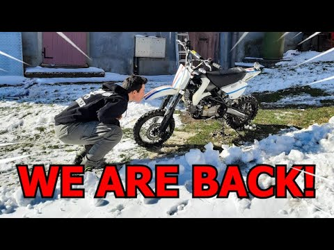 WE ARE BACK! Pit bike 150cc come back!