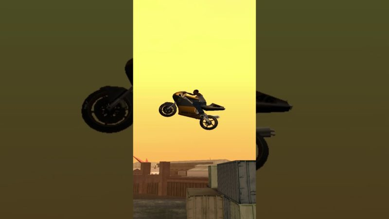 GTA San Andreas bike stunt 19 #shorts