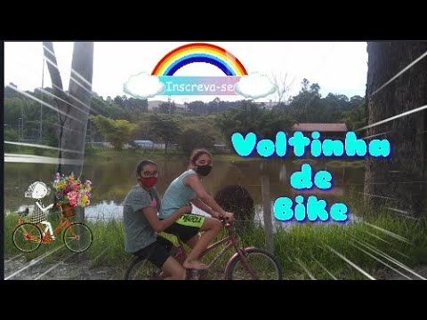 VLOG voltinha de bike 🚴 em volta do lago – #vlog #inscrevase #usemascara