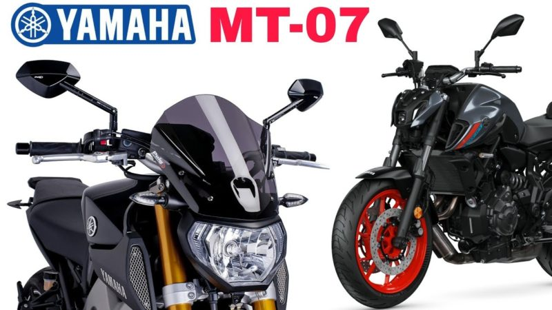 All new 2021 Yamaha MT07 accessories for sports bike ||| Acbiker