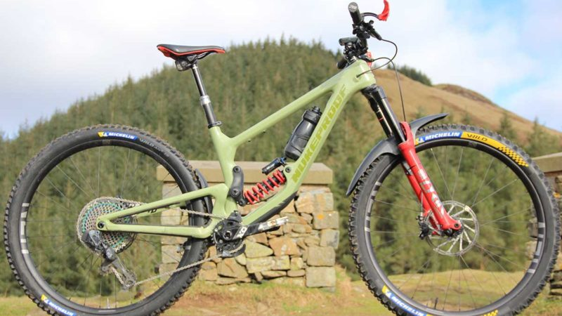Bike Check: Team CRC Manager Nigel Page's Nukeproof Giga Super Enduro MTB