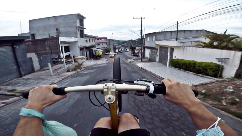 ROLE RAPIDO NA QUEBRADA  *bike vlog*