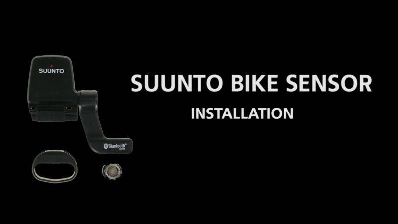 How to install the Suunto Bike Sensor