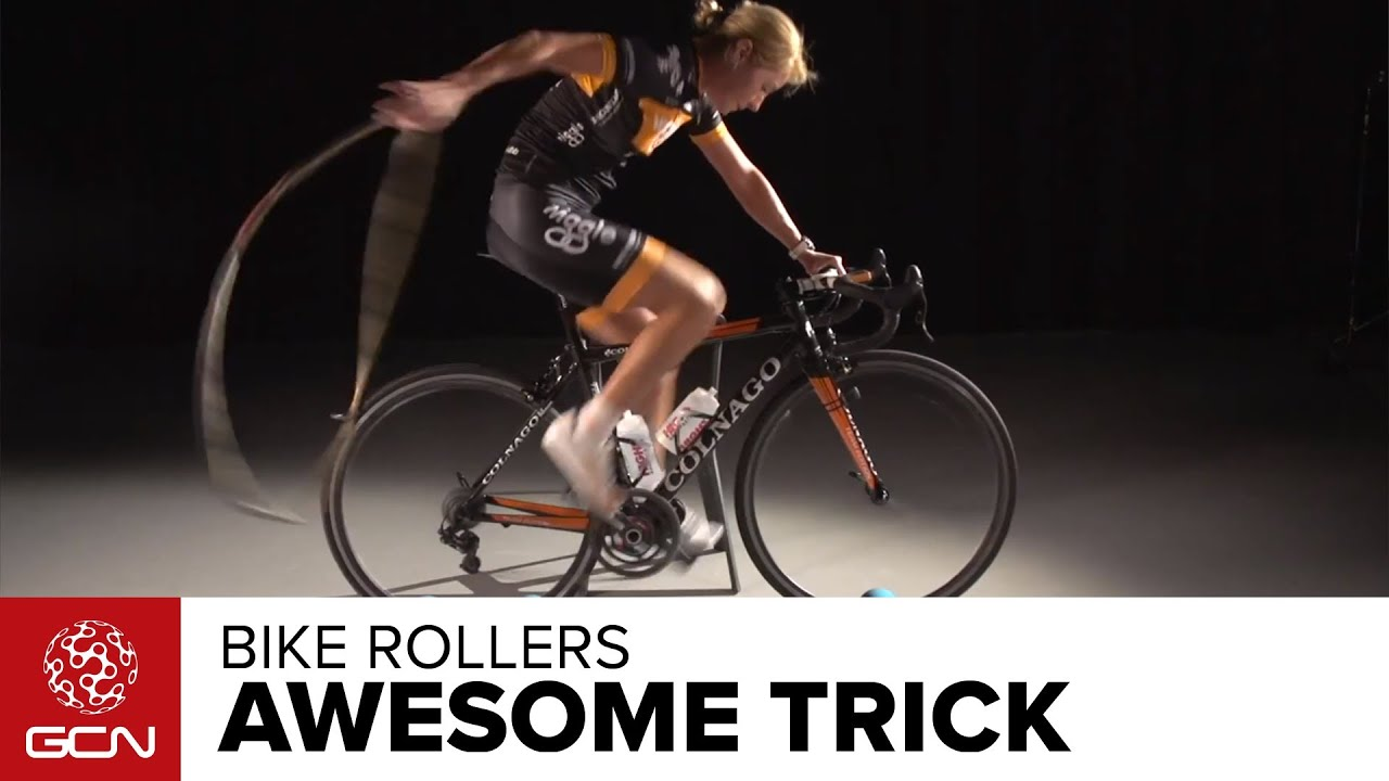 Bike Rollers – Amazing Trick By Rochelle Gilmore